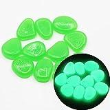 Piedras luminosas verde Paq. 150 uni – Piedras Brillantes - Piedras decorativas de colores –...