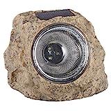 Smartwares 10.009.37 Luz para Exterior, LED, Forma de Piedra, alimentada por energía Solar, IP44,...