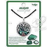 Collar de árbol de la Vida con Colgante Piedra Natural Energeticas - Distintas Piedras...