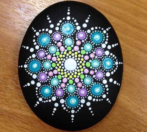 Piedras Pintadas Crea 8 Mandalas Y Muchas Ideas Mas