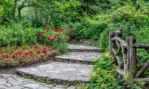jardines con gravilla