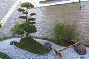 ¿Como decorar un jardin con piedras?