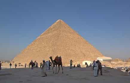 cuanto miden las piramides de egipto