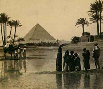 pirámide de Giza