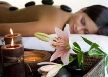 Piedras para masajes relajantes