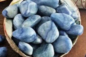 Gema de Cuarzo azul