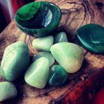 Gema de Cuarzo verde