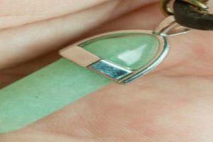 cristal de cuarzo verde