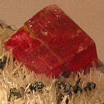 Cristal de la rosa del inca