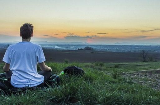 Meditar con piedras