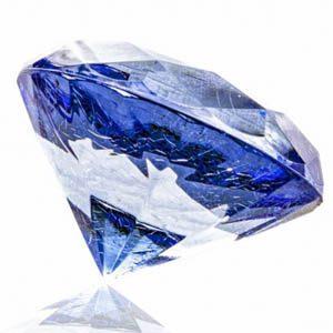 Diamante azulado